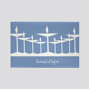 UU Festival of Lights Rectangle Magnet