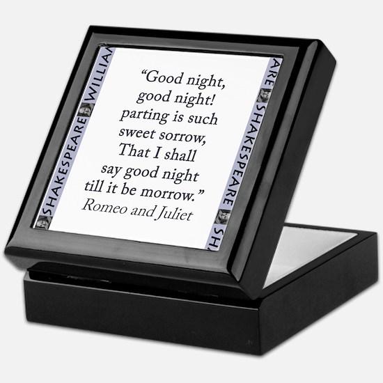 Good Night, Good Night! Keepsake Box