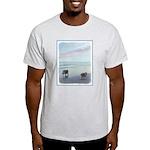 Keeshonds at the Seashore Light T-Shirt