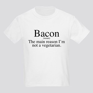 Bacon Black Kids Light T-Shirt