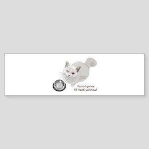 Feed Me Kitty Sticker (Bumper)
