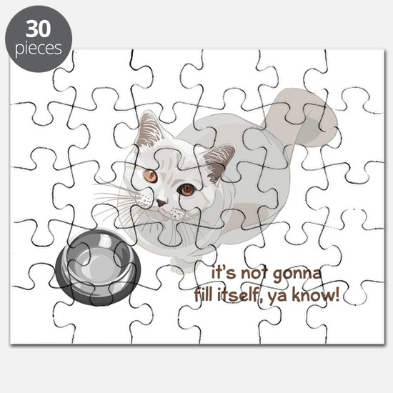 Feed Me Kitty Puzzle