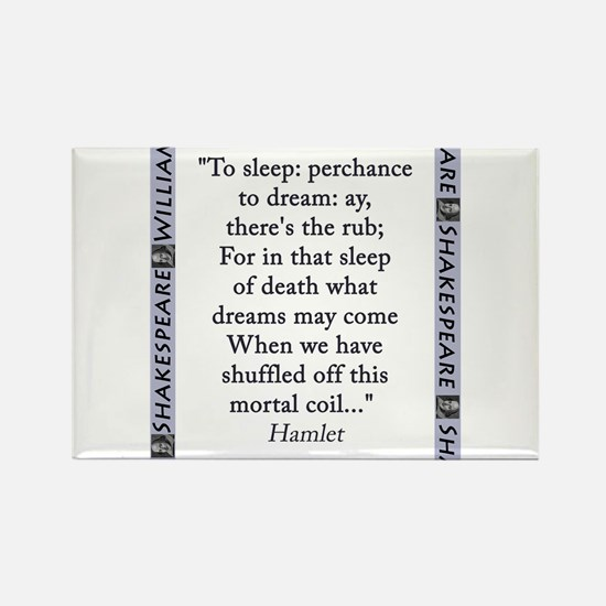 To Sleep: Perchance to Dream Magnets