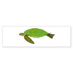 Green Sea Turtle Sticker (Bumper 50 pk)