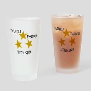 Twinkle, Twinkle Drinking Glass