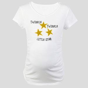 Twinkle, Twinkle Maternity T-Shirt