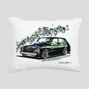 Mazda 323 Hatch Rectangular Canvas Pillow