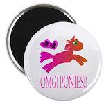 OMGPonies!! Magnet