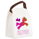 OMGPonies!! Canvas Lunch Bag
