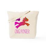 OMGPonies!! Tote Bag