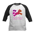 OMGPonies!! Kids Baseball Jersey