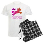 OMGPonies!! Men's Light Pajamas