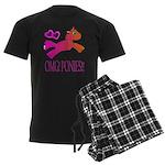 OMGPonies!! Men's Dark Pajamas