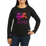 OMGPonies!! Women's Long Sleeve Dark T-Shirt