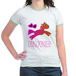 OMGPonies!! Jr. Ringer T-Shirt
