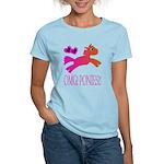OMGPonies!! Women's Light T-Shirt