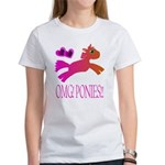 OMGPonies!! Women's T-Shirt