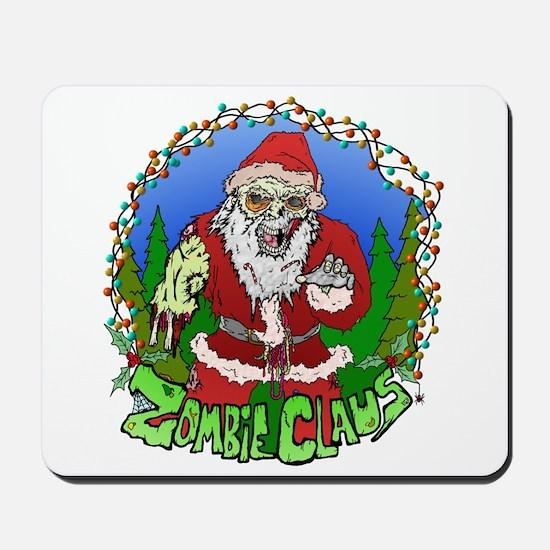 Zombie Claus Mousepad