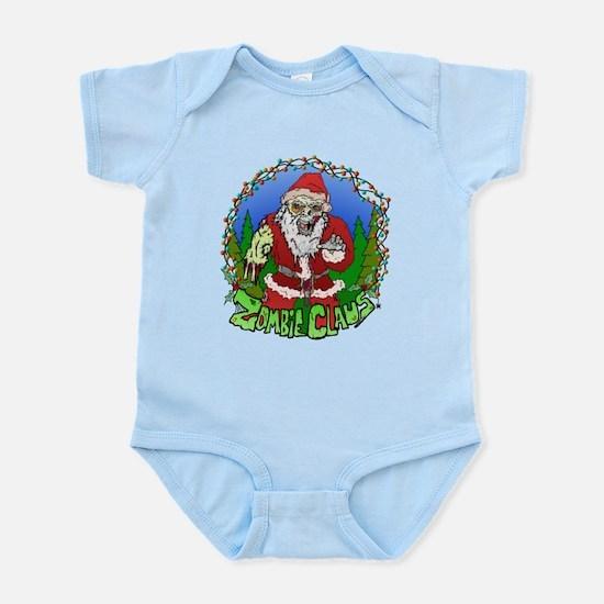 Zombie Claus Infant Bodysuit