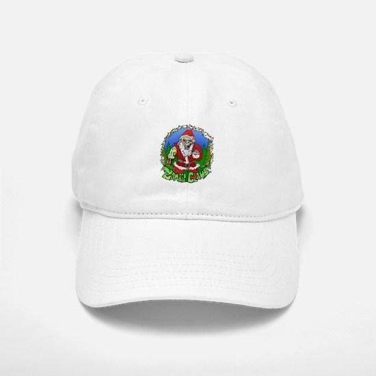 Zombie Claus Baseball Baseball Cap