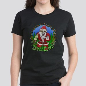 Zombie Claus Women's Dark T-Shirt