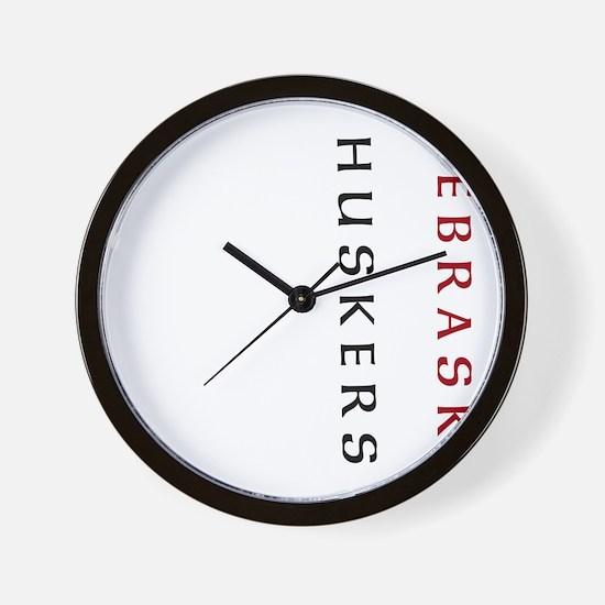 Nebraska Huskers Light Wall Clock