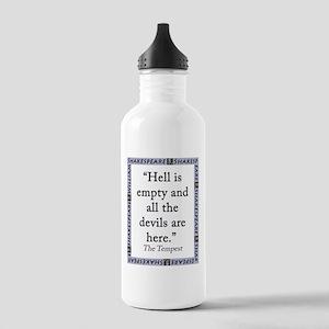 Hell Is Empty Water Bottle