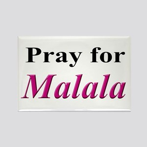 Pray for Malala Rectangle Magnet