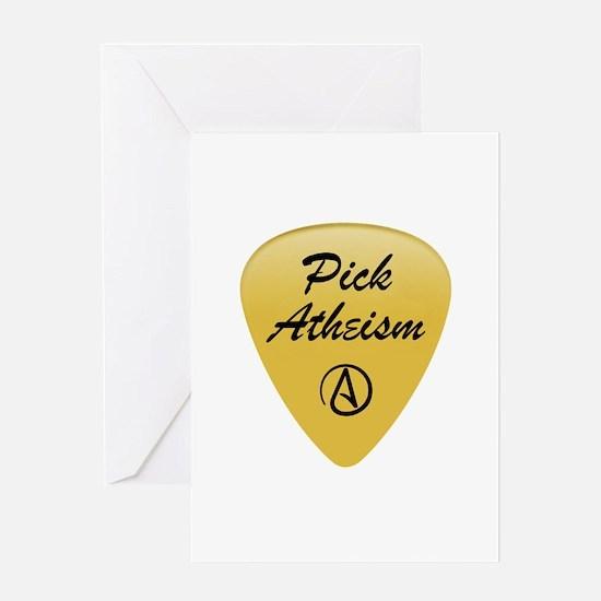 Pick Atheism Greeting Card