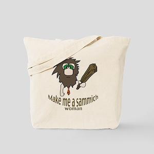 Caveman sammich Tote Bag