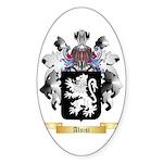 Aloisi Sticker (Oval 50 pk)