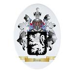 Aloisi Ornament (Oval)