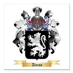 Aloiso Square Car Magnet 3