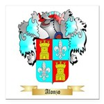 Alonzo Square Car Magnet 3