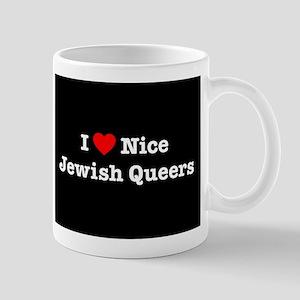 I Heart Nice Jewish Queers Mug