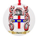 Alpers Round Ornament