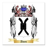 Alsen Square Car Magnet 3