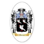 Alsina Sticker (Oval 50 pk)