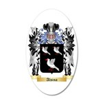 Alsina 35x21 Oval Wall Decal