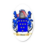 Alston Oval Car Magnet