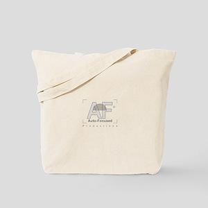 Auto-Focused Shirt Logo Tote Bag