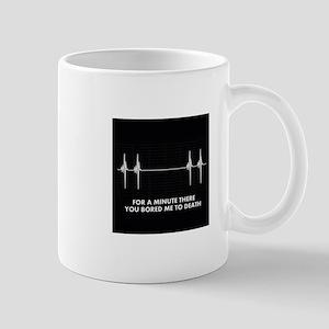 bored - shirt Mug