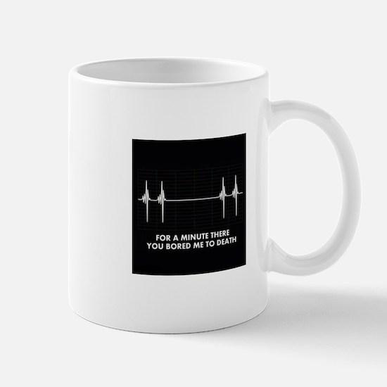 bored - shirt.jpg Mug