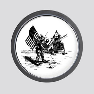 Apollo Moon Landing Wall Clock