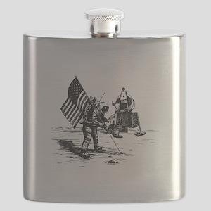 Apollo Moon Landing Flask