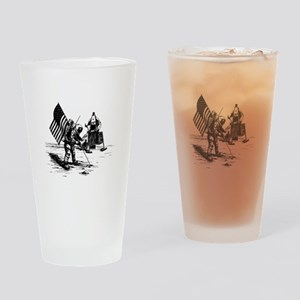 Apollo Moon Landing Drinking Glass