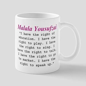 Malala's Rights Mug