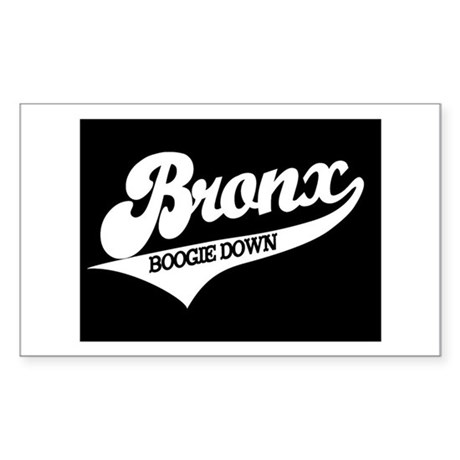 THE BOOGIE DOWN BRONX Sticker (Rectangle)