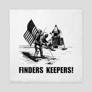 Finders Keepers Moon Landing Queen Duvet