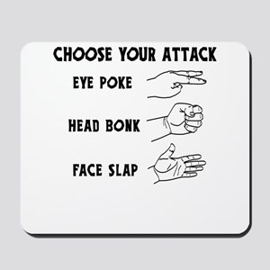 Choose Your Weapon You Numskull Mousepad
